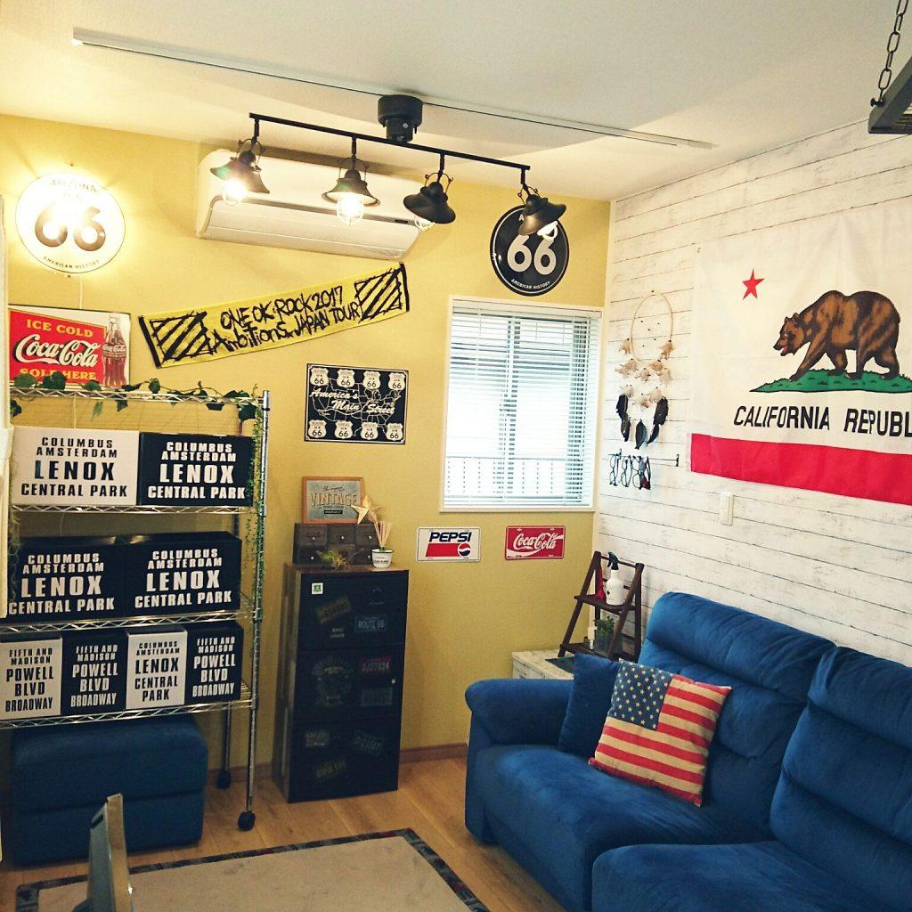 アメリカ風の部屋はどう作る 誰でも出来るコツをご紹介します 暮らし応援ブログ 家ェエイ